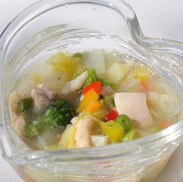画像1: 【冷】チキンと彩り野菜のポトフ (1)
