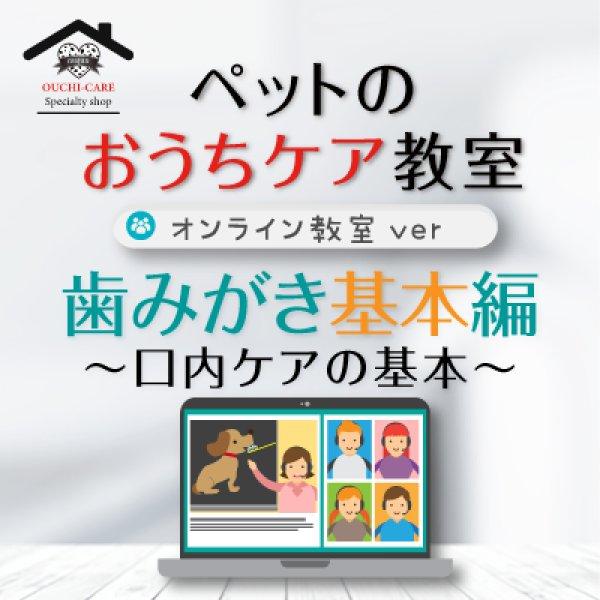 画像1: ペットのおうちケア教室《歯みがき基本編》〜オンライン教室ver.〜 (1)
